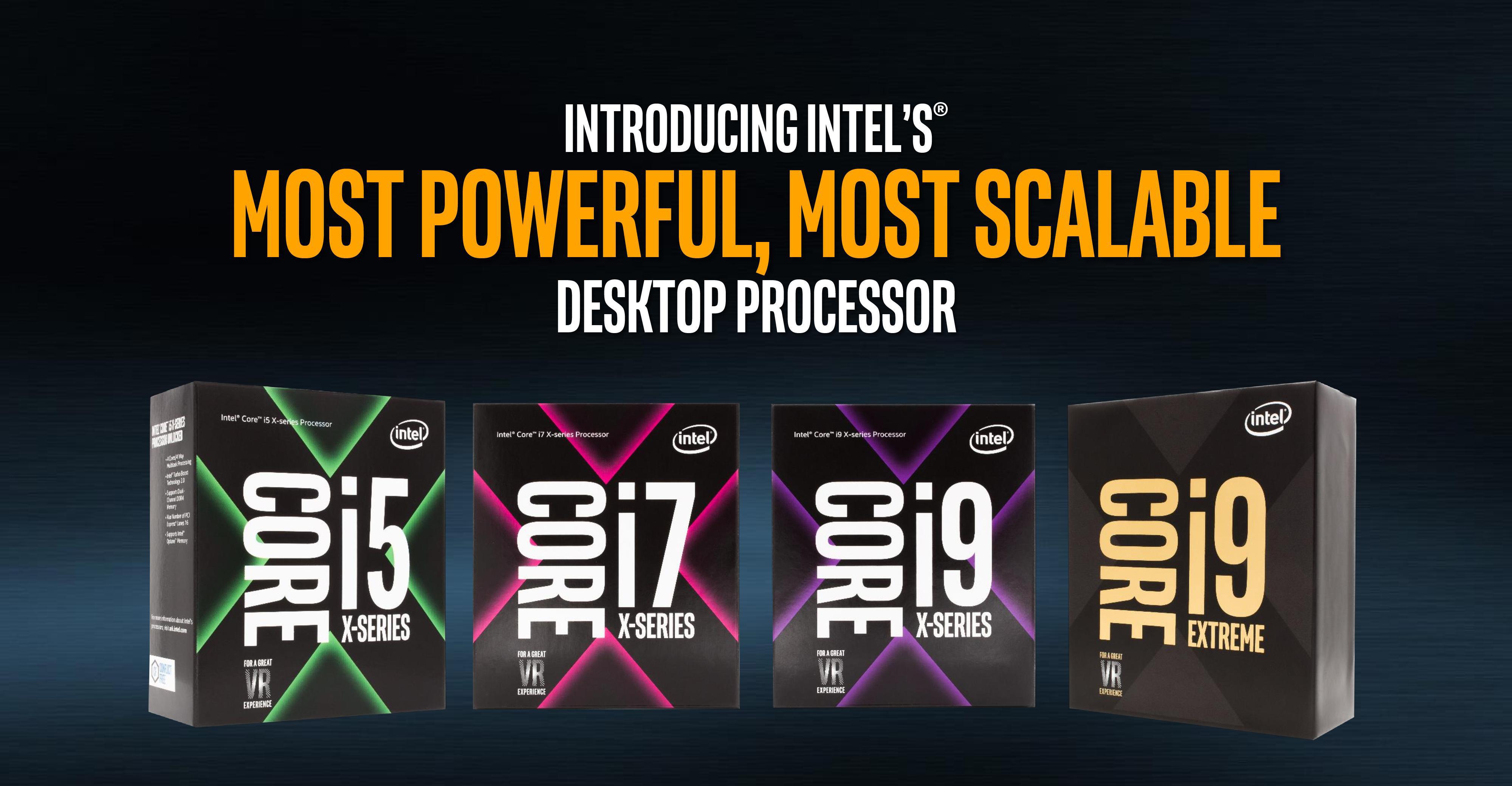Core X-Series Lineup