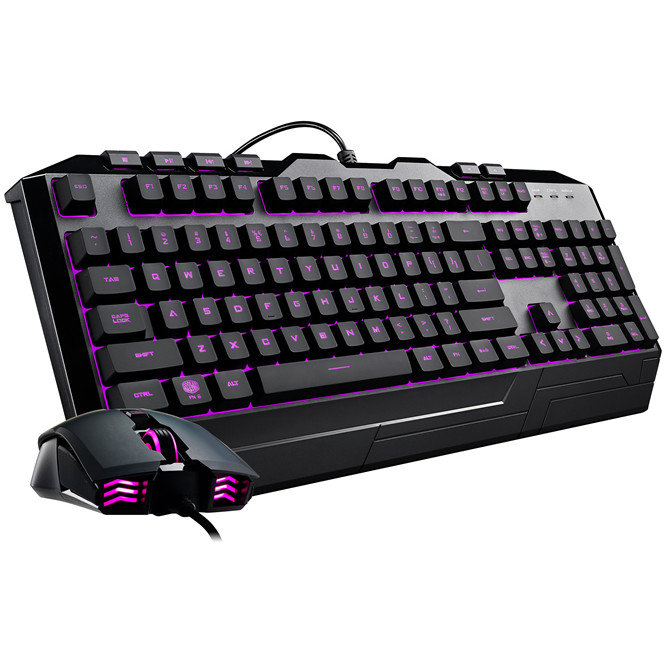 Cooler Master Devastator 3 USB LED keyboard, Mouse