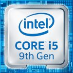 Intel 9th Gen Core i5 processor badge