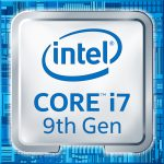 Intel 9th Gen Core i7 processor badge