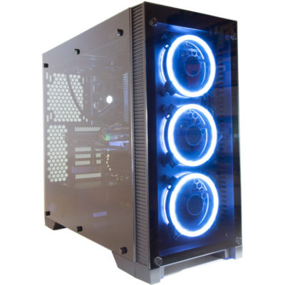 Contour Spacegate Tempered Glass ATX Gaming Case