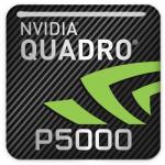 PNY Quadro P5000 Badge Logo