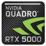 PNY Quadro RTX5000 Badge Logo
