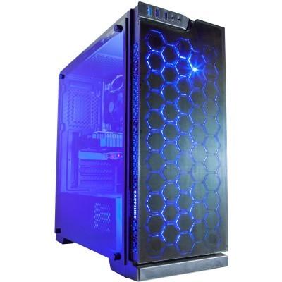Contour Sapphire ATX RGB LED FAN case Blue