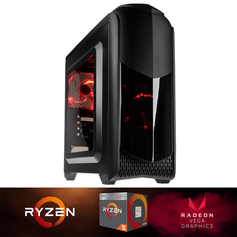 Budget AMD Ryzen 5 2400G Gaming PC