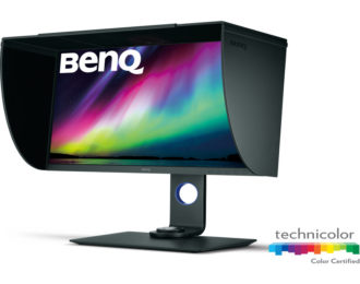 27″ BenQ SW271 4K Adobe RGB Color Management Photographer Monitor