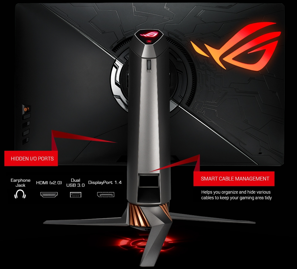 Asus PG27UQ Connectivity