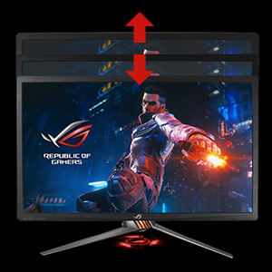 Asus PG27UQ Height
