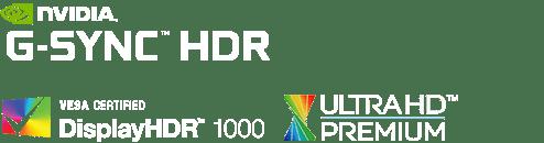 Asus PG27UQ lighting HDR Logo