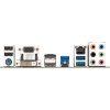 Gigabyte B460M D3H Motherboard IO Plate