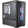 Coolermaster MB320L ARGB mATX Case Front Angle2
