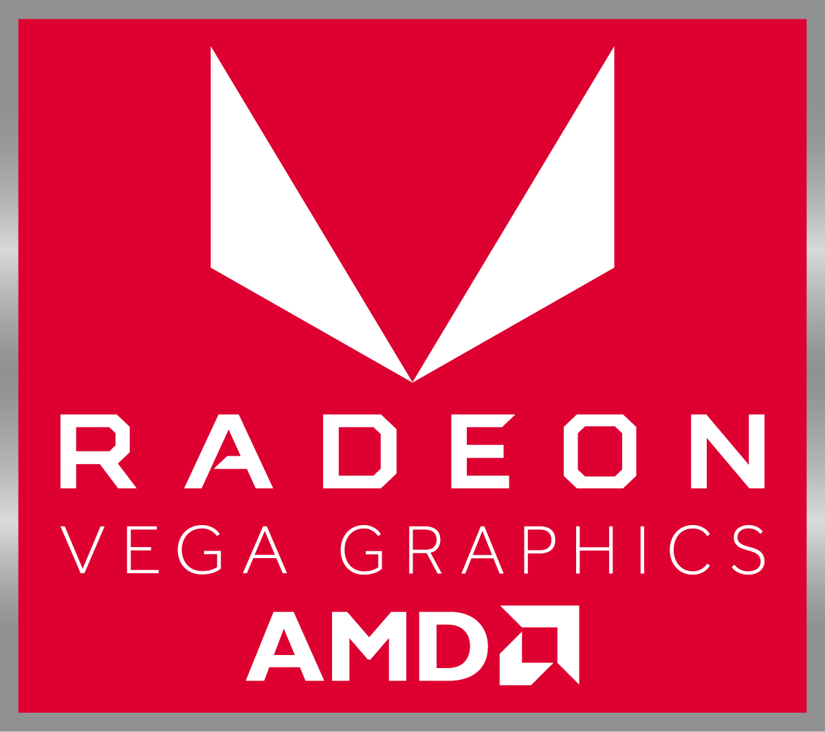 AMD Vega Graphics Badge