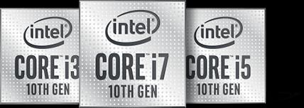 Intel 10th Gen Core Family Badges