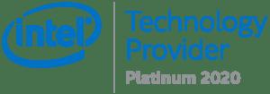 Intel Platinum Partner 2020 Badge
