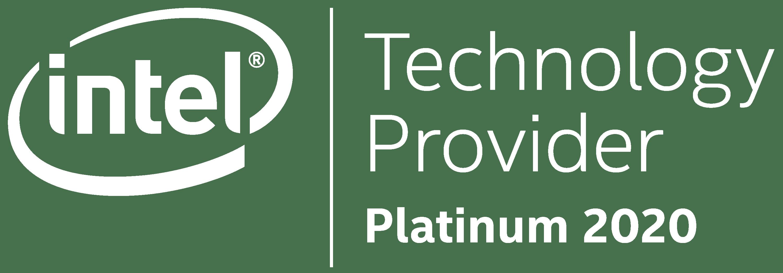 Intel Technology Provide 2020 Badge White