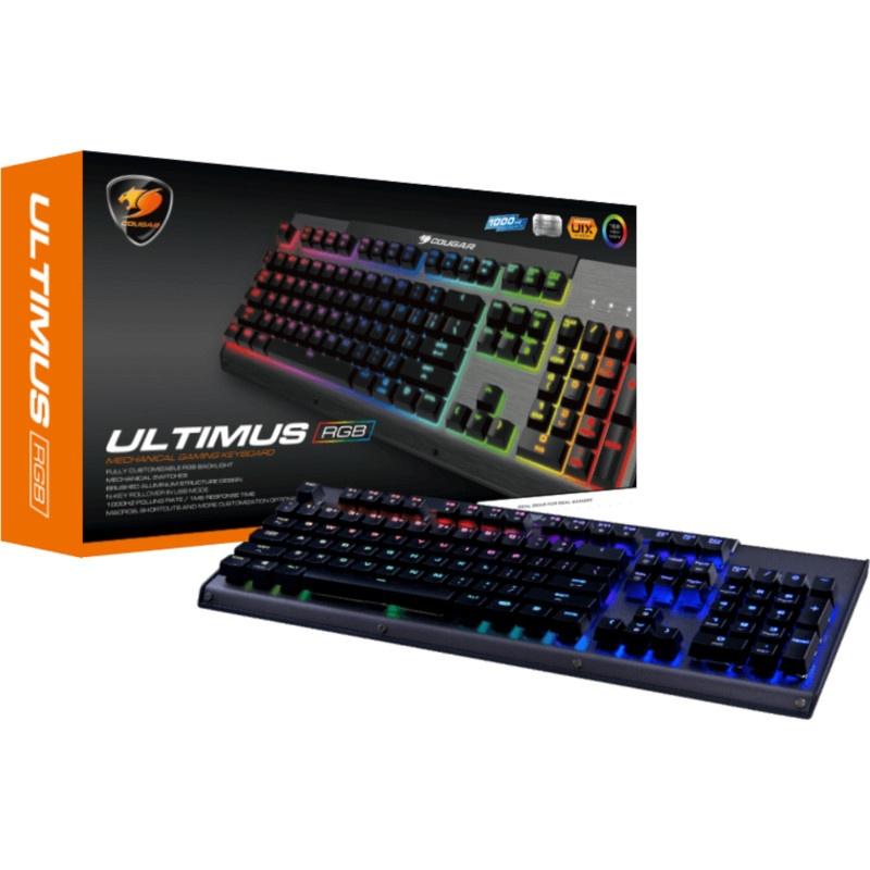 Cougar Ultimus RGB Brown Switch Gaming Keyboard